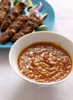 Chicken satay, Malaysia satay, grilled chicken, chicken skewer, peanut sauce, kid-friendly recipe, toddler, food 4 tots