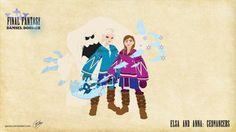 Elsa and Anna - Geomancers