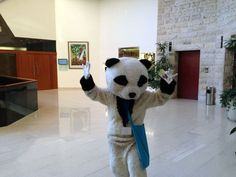 Typically at SMX event you have someone dressing up in a Panda costume. Yesterday we had our own at SMX Israel.