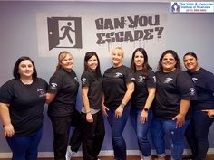 Today the managers from all The Vein and Vascular Institute offices got together for some fun and team-building...working together and strategizing to solve their way out of the escape room.  #TheVeinAndVascularInstituteOfRiverview #GotVeinsRiverviewFL  https://www.veinandvascularinstituteofriverview.com/