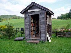 Cabane à livres - L'Art du bonheur