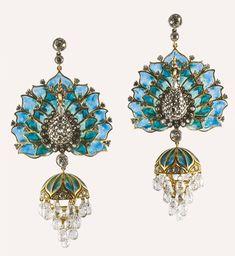 Peacock Earrings | Munnu The Gem Palace