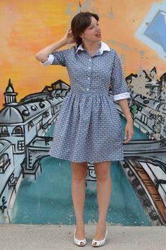 Cami Dress Pauline Alice (tissu Linna Morata)