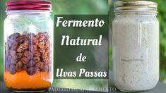 Fermento Natural de Uvas Passas | Padeiro de Apartamento - YouTube Make It Yourself, Baking, Fruit, Youtube, Tasty Food Recipes, Honey Bread, Vegan Recipes, Herbs, Vegan