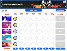 preschool goal charts ideas | Lettre Words: Chore Charts @ Goalforit