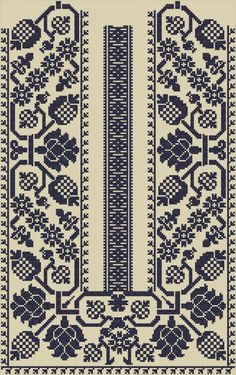 Сх'с'ч Cross Stitch Geometric, Cross Stitch Art, Cross Stitch Borders, Crochet Borders, Cross Stitch Designs, Cross Stitching, Cross Stitch Patterns, Polish Embroidery, Folk Embroidery