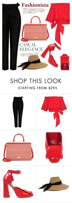 """Fashionista!"" by ifchic ❤ liked on Polyvore featuring IRO, Saloni, Boutique Moschino, SUNO New York, Eugenia Kim and contemporary"