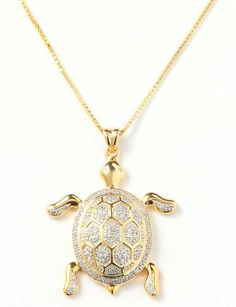 14k gold sea turtle necklace turtle necklace turtle and filigree 18kt gold plated sea turtle pendant necklace beallshttpamazon aloadofball Choice Image