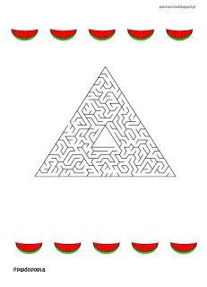 20 Λαβύρινθοι για τις παιδικές καλοκαιρινές διακοπές Maze, Playing Cards, Playing Card Games, Labyrinths, Game Cards, Playing Card