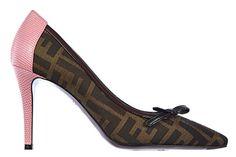 Fendi Damenschuhe Pumps mit Absatz High Heels camelia Braun EU 37.5 8I4557 W32 F0P2H - http://on-line-kaufen.de/fendi/37-5-eu-fendi-damenschuhe-pumps-mit-absatz-high