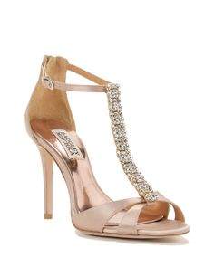 RADIANT evening shoes by Badgley Mischka, now available at the official website. Free shipping, exchanges, and returns.