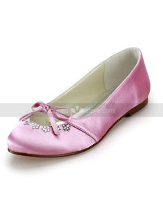 Pink, Ivory or White Round toe Satin Rubber sole Wedding shoes  http://www.miamastore.com/product.php?id_product=4210