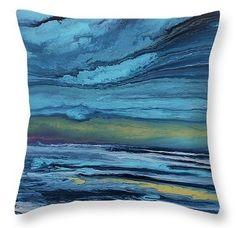 Coastal Reflections Pillow by  Coastal Living Art Acrylic ~  #beachpillow#coastalhomedecor#nauticaldecor#nauticalpillow#beachdecor#throwpillow#homedecor