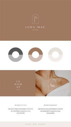 Brand Identity Design, Branding Design, Logo Deco, Spa Branding, Corporate Branding, Skincare Logo, Web Design, Brand Board, Grafik Design