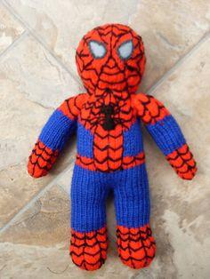 Knitting Pattern For Spiderman Doll : Teenage Mutant Ninja Turtles Knitting Pattern to Knit ...