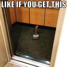 """Elevator's not worthy......"" -Steve Rogers"
