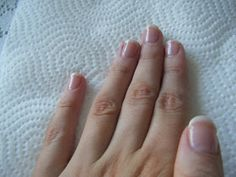 Perfectly Polished: DIY Simple U.V Gel Overlay Nails at home Series! French Manicure Gel Nails