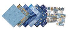 Creative Imaginations - Signature Navy Collection - Scrapbook Kit - Navy at Scrapbook.com $9.49
