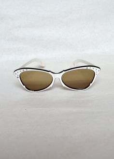 8d00ab1da2f1 Vintage 1950s or 1960s Ladies Italian Sunglasses by planetalissa ...