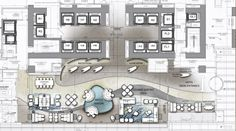5 Star Hotel Plan of Reception and Lobby Cafe Floor Plan, Hotel Floor Plan, Floor Plan Layout, Floor Plans, W Hotel, Plano Hotel, The Plan, How To Plan, Hotel Lobby Design