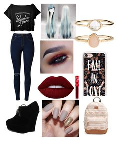 """""""Untitled #59"""" by serenityreigndavis on Polyvore featuring Forever Link, Casetify, Rip Curl, Lime Crime and Accessorize"""