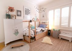 Catherine from tubu kids has come up with an ingenius hack of Ikea's kura loft bed using plywood - check it out!