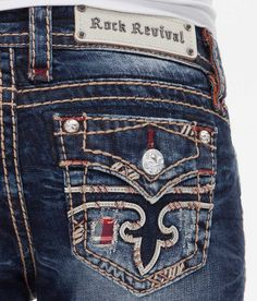 Got these last week and in love!!!!! Rock Revival Arlette Boot Stretch Jean - Women's Jeans | Buckle