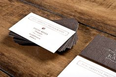 Business Cards (I've always wanted to use this paper)