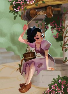 Snow White by Victoria Ying #disney #fanart