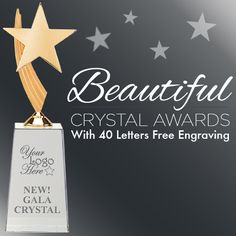 This Is The Perfect #CorporateAward To Reward A Job Well Done. This #Elegant #Crystal #Award Is Absolutely Beautiful!   https://www.crownawards.com/StoreFront/GLGA10.ALL.Crystal_Awards.Gala_Crystal.prod
