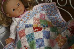 pretty dolly blanket