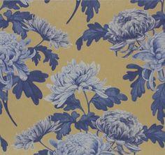 Vliestapete blumen blau pink gelb tapete rasch sophie for Tapeten katalog bestellen