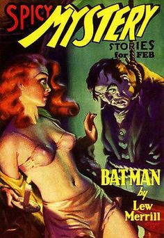 Spicy Mystery Stories - February 1936 - Magazine Cover Poster