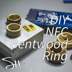 Unlock your house or your phone with this nifty low/high tech ring!
