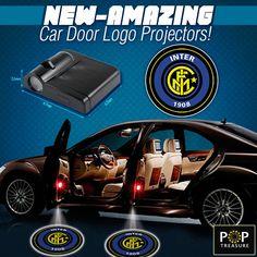 2 EPL Inter Milan Wireless LED Car Door Projectors