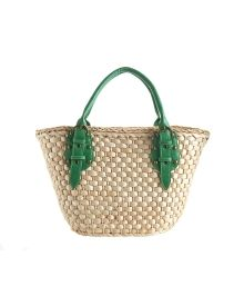 i need this!! Straw Studios Woven Straw Tote with Faux Leather Straps - Accessories | Stein Mart