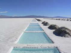 15 gorgeous places you need to visit before they fill up with tourists: Salinas Grandes, Argentina Brazil Argentina, Wonderful Places, Beautiful Places, Les Continents, Places Of Interest, Most Visited, Travel Goals, Transformers, Backpacker