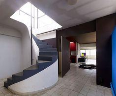 Le Corbusier Atelier - Immeuble Molitor  Reportage Le Corbusier by Cemal Emden  LE CORBUSIER