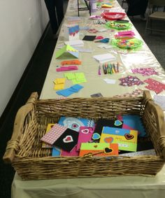 So thankful for such a great turn out for the card making party!!! We made 110 cards!!!