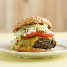 ... cheeseburger. Home-Ground Burgers with Bacon, Cheese, and Fresh Thyme
