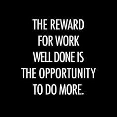 Earn your reward.