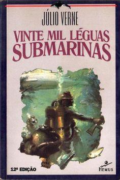Vinte mil léguas submarinas - Júlio Verne - Hemus