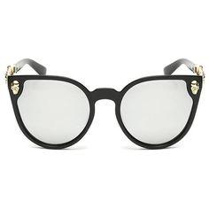 Gothic Skull Cat Eye Sunglasses