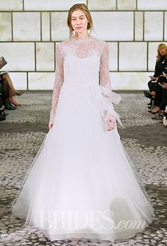 Brides: Lace Wedding Dresses from the Bridal Runways | Wedding Dresses | Brides.com