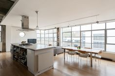 Interior architecture by P. Downing. Canal Building Shepherdess Walk, London N1 | The Modern House