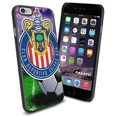 Soccer MLS CLUB DEPORTIVO CHIVAS USA FC LOGO SOCCER FOOTBALL , Cool iPhone 6 Smartphone Case Cover Collector iPhone TPU Rubber Case Black Phoneaholic http://www.amazon.com/dp/B00U2U5FIA/ref=cm_sw_r_pi_dp_UZHnvb1V25AJ7