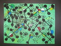 Miro inspired Abstract | Flickr - Photo Sharing!