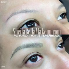 Amazing Micro Hair Strokes : Sheila Bella Permanent Makeup