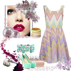 """""""Perfect Pastels"""" by alexandraalyssapage on Polyvore"""