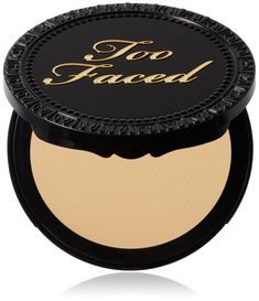 Too Faced Cosmetics Amazing Face Powder Foundation, Warm Vanilla, 0.32-Ounce. Skin Balancing; Contains the innovative Regu-Seb which helps to control and reduce oil production leaving skin looking fresh and foundation just applied. Bamboo Silk; This nutrient-rich ingredient revives and renews skin tone to promote a balanced texture while imparting a comfortable feeling finish. Multi-tasker glides on evenly as a pressed powder or a powder foundation. Sunsafe spf 15 protects from the sun's...